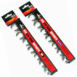 """3/8""""Drive Flare Nut Crowfoot spanner Wrench Set Metric / SAE Square Drive"""