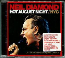 "NEIL DIAMOND ""Hot August night NYC"" 2CD inkl. Beautiful news, Solitary man, Neu!"
