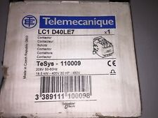 Schneider Electric LC1D40LE7 208VAC 40AMP IEC Magnetic Contactor 3P
