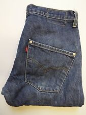 LEVI'S TYPE 3 TWISTED ENGINEERED JEANS W32 L28 MID BLUE LEVJ216 #