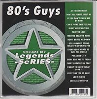80s Guys Karaoke Legends CDG Bon Jovi U2 George Michael POISON Police Soft Cell