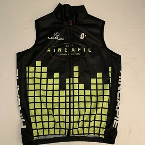NWOT Hincapie Gran Fondo Mens Full Zip Cycling Jersey Vest Size XL New