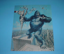 CLASSIC MONSTER KING KONG WORLD TRADE CENTER MOVIE POSTER PIN UP