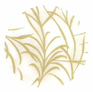 """Andreas Silicone WHEAT 8"""" Gold White Trivet surface protector, Dishwasher safe!"""