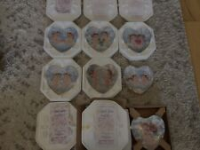 Dreamsicles collectables lot Of Heart Shaped Plates.