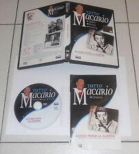 Dvd TUTTO MACARIO Il Cinema COME PERSI LA GUERRA Perfetto Fabbri