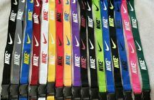 Nike Lanyard Detachable Keychain ID Badge Phone Holder over 35 Colors Free Ship