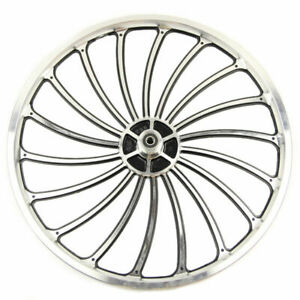 20 X 1.75/2.125/2.5'' Aluminum Bicycle Front or Rear Wheel eBike Chopper Kit US