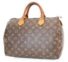 Authentic LOUIS VUITTON Speedy 30 Monogram Boston Handbag Purse #37601