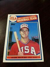1985 Mark McGwire #401 Vintage Baseball Card Rookie RC