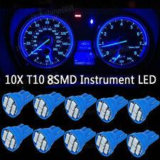 10K Blue LED 194 Wedge Speedo Dash Gauge Instrument Panel Light Bulb For Chevy
