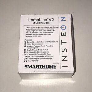 Insteon Smarthome LampLinc V2 Model Number 2456D3 Lamp Dimmer Brand New In Box