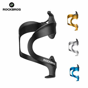 RockBros Bike Water Bottle Cage Adjustable Aluminium Alloy Bicycle Bottle Holder