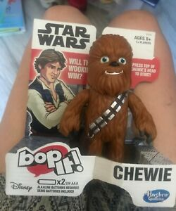 Bop It! Electronic Game Star Wars Chewie Edition for Ages 8 and up Chewbacca