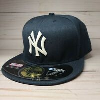 59Fifty New Era New York Yankees Official On Field Fitted Hat Blue Men's MLB Cap