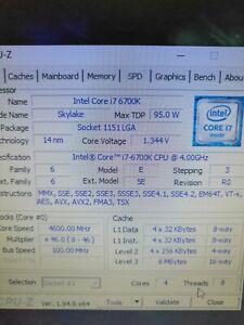 I7 6700k 4.6GHz