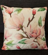 Brand New- Popular Hamptons Floral pink Tropical Cushion cover