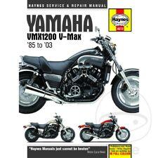 Yamaha VMX-12 1200 Vmax 2001-2002 Haynes Service Repair Manual 4072