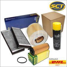 Audi A6 4F C6 2,7 TDI & 3,0 TDI bis 10/08 Filterset + Klimareiniger | SCT & MANN