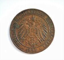 RARE GERMAN EAST AFRICA COIN - 1 PESA - WILHEM II - KM# 1 - VF -  1309 (1892)