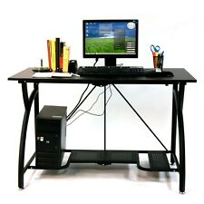 Foldable Computer Table Portable Office Desk Gaming Compact Laptop Origami Black