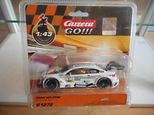 Slotcar Carrera GO BMW M3 DTM Tomczyk #1 in White  on Blister