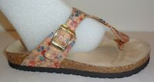 Cliffs by White Mountain Size 6.5 BIRCH Floral Sandals New Womens Shoes