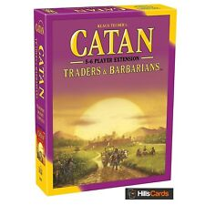 5-6 Player Extension Traders & Barbarians Catan Board Game Expansion Settlers Of