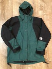 North Face Gore-Tex Green & Black Mountain Light Jacket Parka Women's Sz Medium