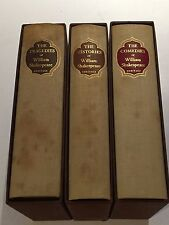 William Shakespeare 3V SET Heritage Press - Histories Tragedies Comedies