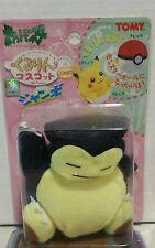 VINTAGE Pokemon POCKET MONSTER Plush DOLL Snorlax Reversible  POKE BALL