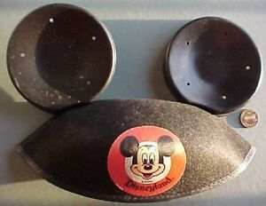 1960s Era Walt Disney Disneyland Mickey Mouse hat with ears-Anaheim California!