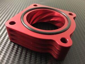 RED Throttle Body Spacer for 2003 - 2006 Nissan SENTRA 1.8l  QG18DE