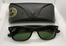 Ray Ban NEW WAYFARER rb2132 901  black frames green lenses sunglasses 52