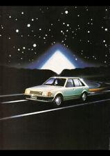 "1981 BD MAZDA 323 HATCHBACK AD A1 CANVAS PRINT POSTER 33.1""x23.4"""