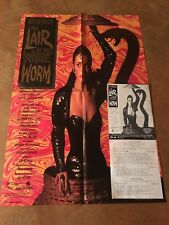 The Lair of the White Worm Original Movie Poster/promo itemsRare! Horror Classic