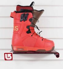 New 2012 Celsius Cloud 9 Ozone Snowboard Boots size 7 Red/Brown