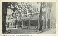 Vintage Postcard Gator Club University Of Florida Gainesville FL Alachua County