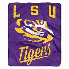 "LSU Tigers Alumni 50"" x 60"" Raschel Plush Blanket by Northwest"