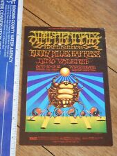 1968 JIMI HENDRIX EXPERIENCE WINTERLAND CONCERT POSTCARD BG140, GRIFFIN, MOSCOSO