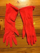 Nwt Women's Microfiber Gloves Red One Size