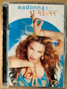 Madonna The Video Collection 93-99 DVD Video Compilation Dance Pop Music