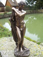 30077  FIGURINE  STATUETTE   STATUE NARCISSE  REPRODUCTION STYLE  BRONZE 20%