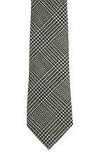 Corbata de comprobación de príncipe de Gales en Ancho Moderno-hecho en el Reino Unido (6-W109/37)