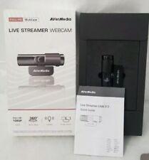 AVerMedia Live Streamer Webcam PW313 Full HD 1080P Streaming