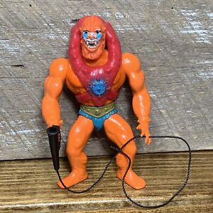 Masters Of The Universe Vintage 1981 BEAST MAN w/ Whip Armor