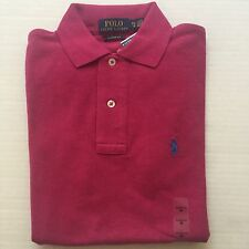$85 NWT Men's Polo Ralph Lauren S/S Classic Fit Cotton Polo Shirt Pink-X SMALL
