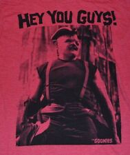 Ripple Junction Medium The Goonies Sloth Hey You Guys! Red SS Graphic Tee shirt