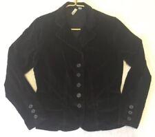 998900b9e5ec2 St. John's Bay Womens Medium Black Corduroy Jacket Button Up Soft Dressy  Casual