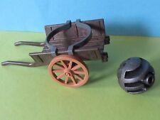 PLaymobil*Wagen Kanone Gardist 3111 3750 Soldat pirat Berta + Munition 3133 3666